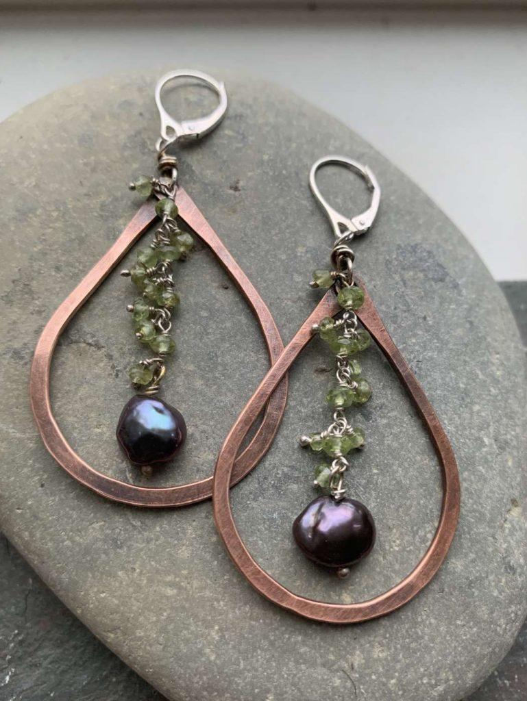 copper pearl peridot