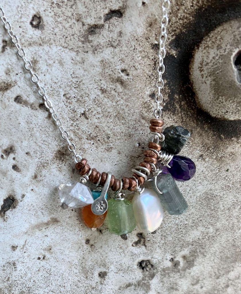 Gemstone Talisman Necklace